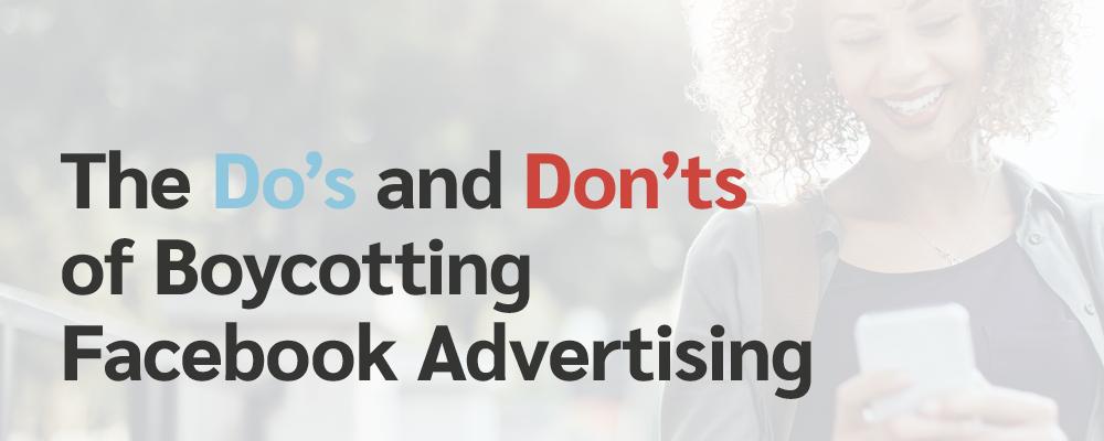 Boycott Facebook Advertising