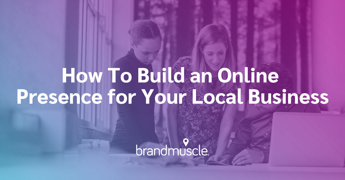 build an online presence