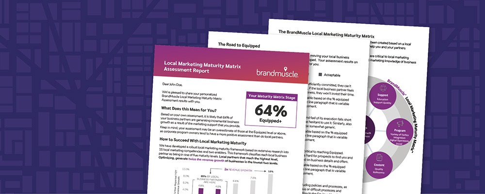 Local Marketing Maturity Assessment