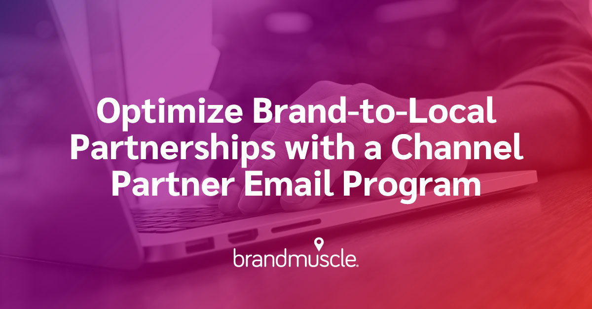 channel partner email program