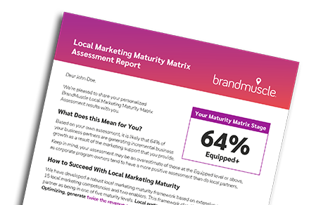 BrandMuscle – Integrated Local and Channel Marketing